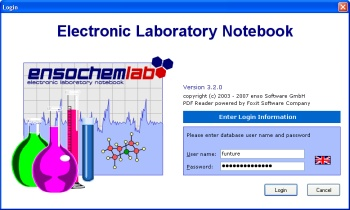 ensochemLab User Interface